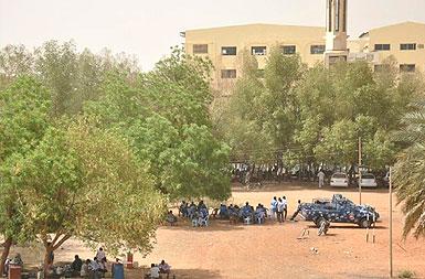إستقالة عمداء بكليات جامعة النيلين بسبب نزاع مع الشرطة علي أرض