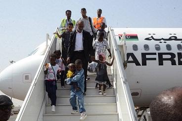 عودة 4 أطفال لدواعش سودانيين من ليبيا