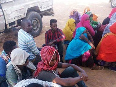مليشيات ليبية تحتجز سودانيين وتطالب بفدية