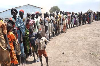 الاف اللاجئين الجنوبيين والاثيوبيين يعودون الي النيل الازرق