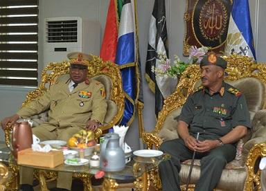 الخرطوم تستضيف إجتماع تشاوري عسكري يضم النيجر وتشاد