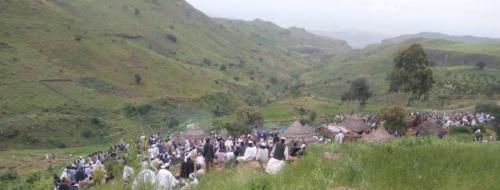 عبد الواحد يُعلن وقف العدائيات لوصول المساعدات لمتضرري الانزلاق الجبلي
