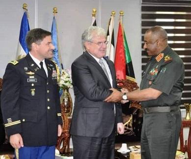 دعوة أمريكية لرئيس اركان الجيش السوداني لحضور مؤتمر عن التطرف