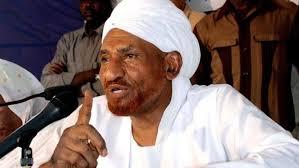 الإمام الصادق المهدي يصرح حول البدوي
