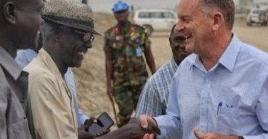 ديفيد شيرر يحث الأطراف على تسريع تنفيذ اتفاق السلام