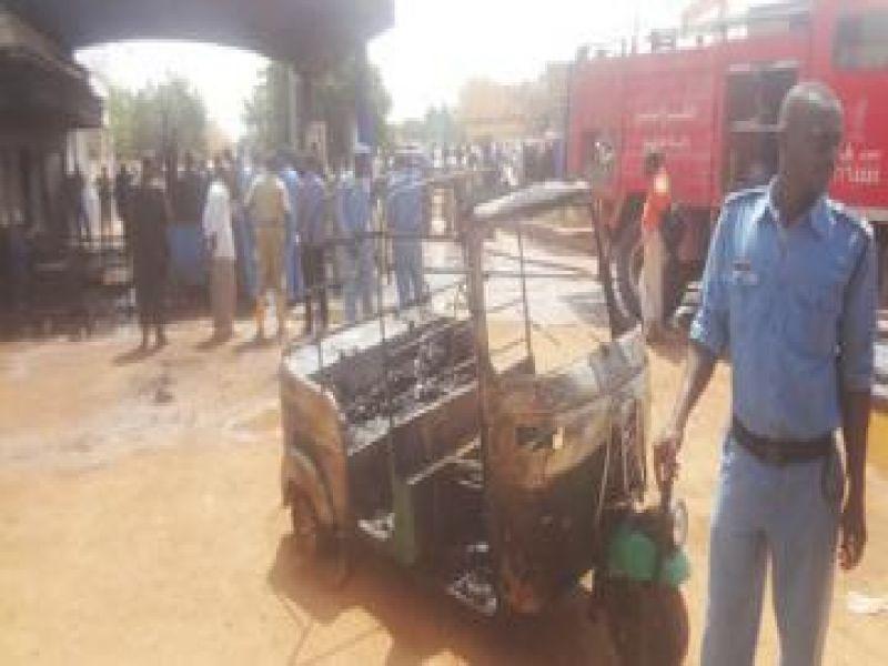 إصابة (8) طلاب في اشتباكات عنيفة بجامعة السودان