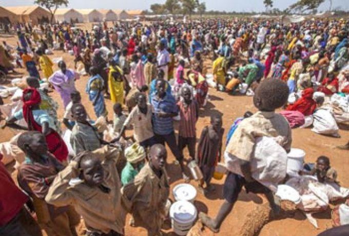 الأسود تفترس جنوبيين في طريقهم الي السودان