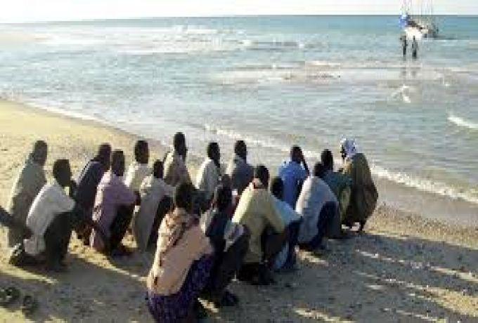 الافارقة المهاجرون ..السودان الطريق الي ما وراء البحار