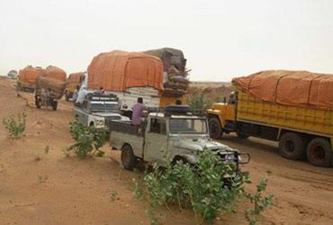 مسلحون بشمال دارفور ينهبون شاحنات قادمة من الخرطوم