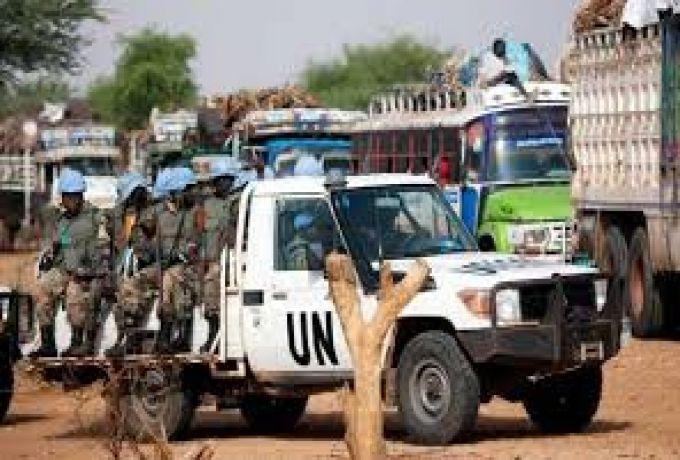 مفصولو (يوناميد) من السودانيين يعتصمون سلمياً لنيل حقوقهم