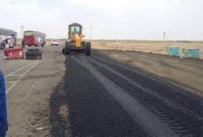 توقف الشركة الصينية المنفذة للطريق القاري بغرب السودان