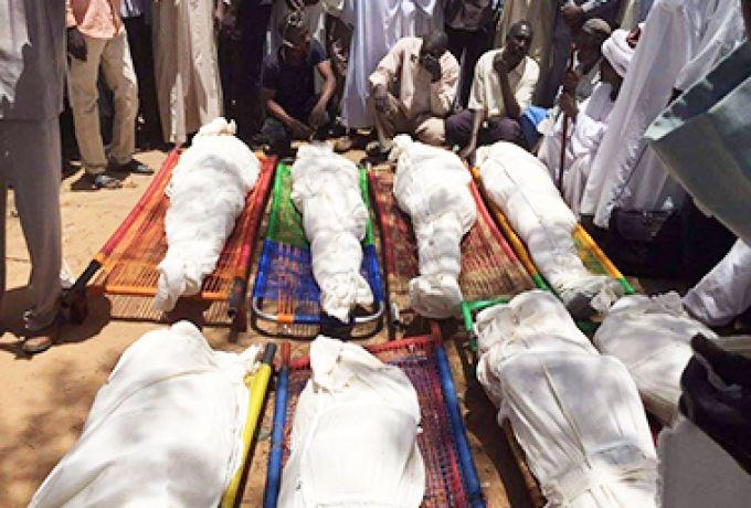 مقتل وإصابة 15 شخصاً في هجوم لمسلحين رعاة علي مزارع بشرق دارفور