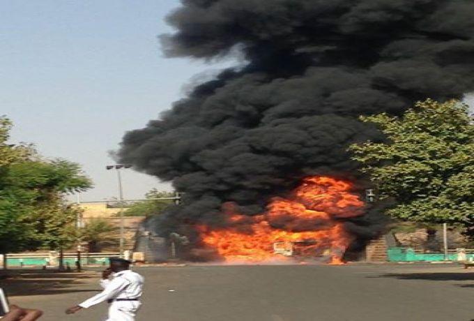 أفراد شرطة أشعلوا النار للتدفئة فشبت النيران بمقرهم