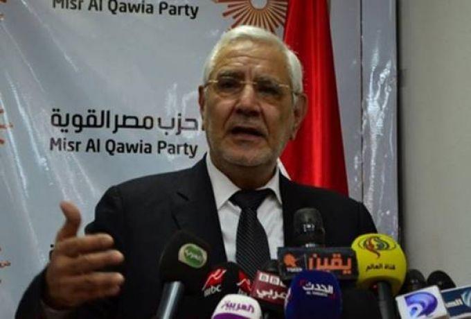 مرشح مصر السابق يكشف سبب منعه من دخول السودان