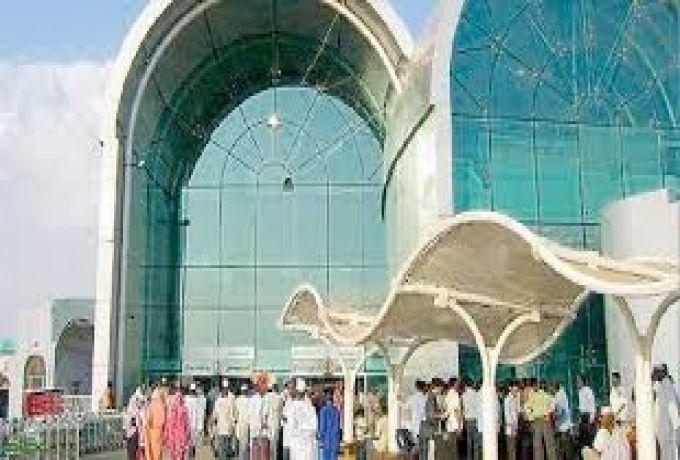 إفتتاح صالة سفريات داخلية متميزة بمطار الخرطوم