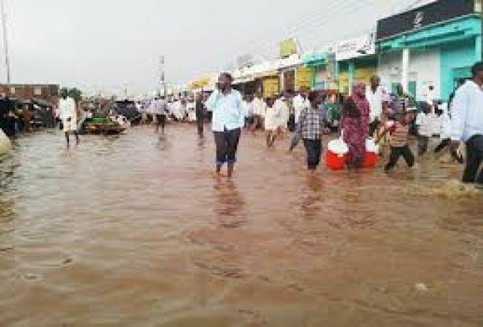 امطار غزيرة بالخرطوم وبعض ولايات السودان