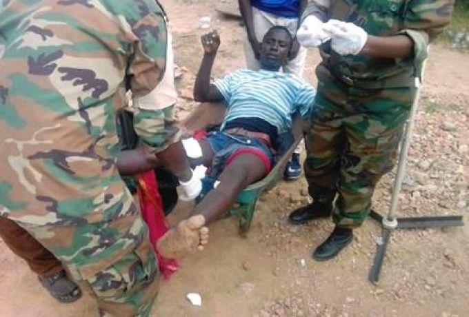 سقوط عشرات القتلي والمصابين بإحتجاجات اثناء زيارة البشير لنيالا