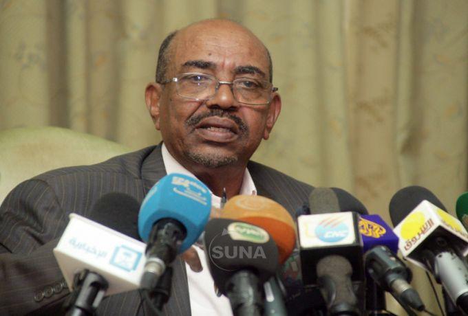البشير :السودان تضرر من مشكلة دارفور أكثر من أزمات الجنوب