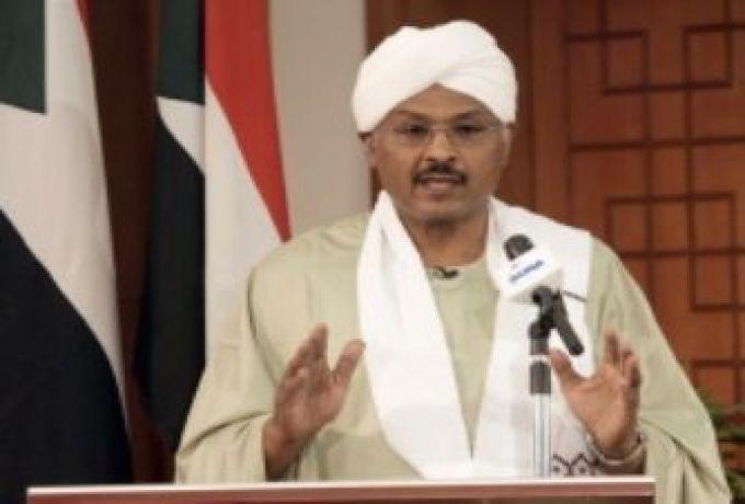 وفد سوداني بقيادة نائب رئيس مجلس الوزراء الي جوبا