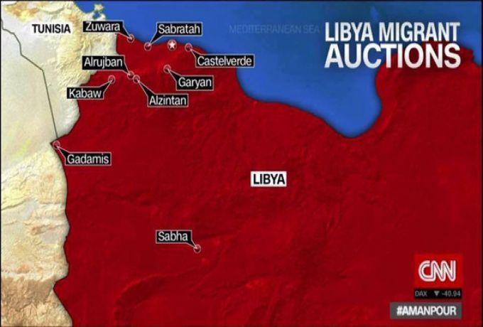 صدمة في ليبيا.. اسواق لتجارة العبيد