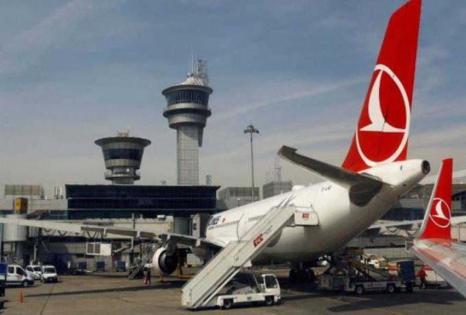 """""""واي فاي"""" سبب الهبوط الإضطراري للطائرة التركية بمطار الخرطوم"""