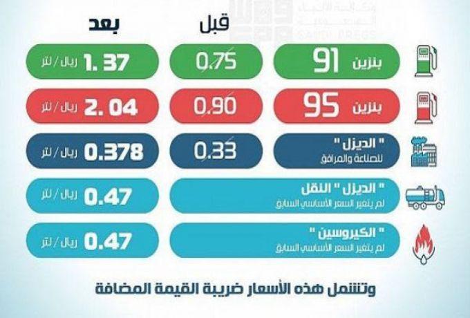السعودية .. بدء تطبيق الأسعار الجديدة للوقود