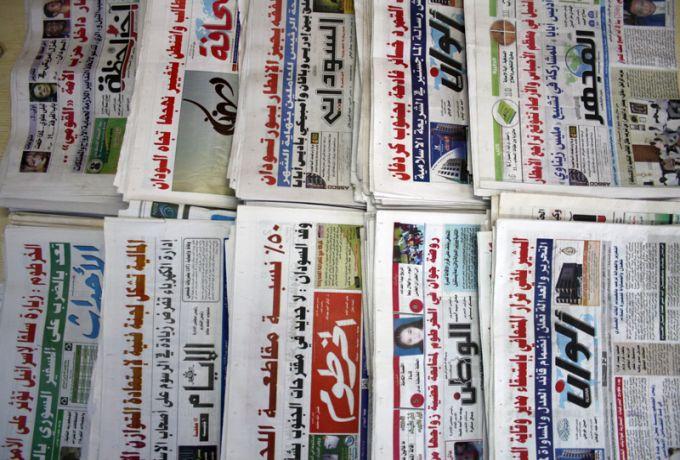 عناوين الصحف السياسية السودانية الصادرة بتاريخ الاحد 28 يناير 2018م