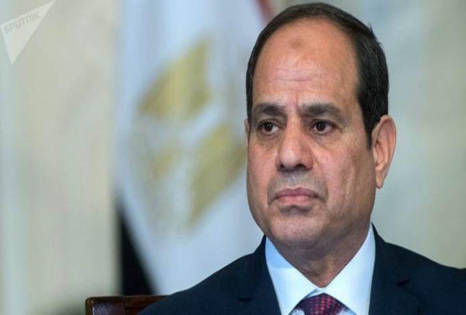 عبد الفتاح السيسي: لا توجد ازمة بين مصر وأثيوبيا والسودان