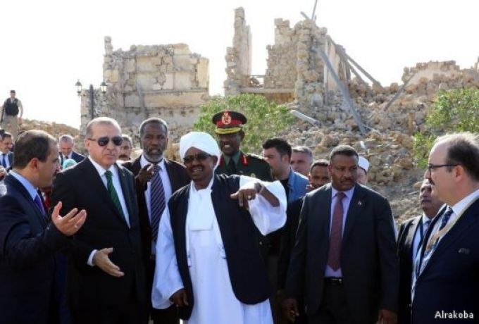 السودان يتوقع إزدياد أعداد السياح بتأهيل تركيا لسواكن