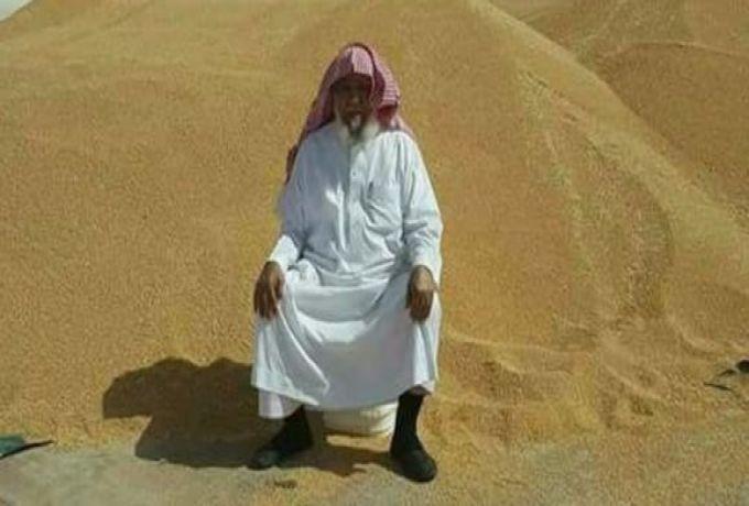"""مساعد البشير يشارك الاحتفال بحصاد """"قمح الراجحي"""""""
