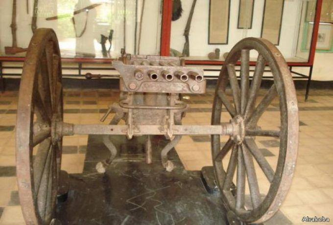 "إختفاء مدفع رشاش ""اثري"" من متحف شيكان"