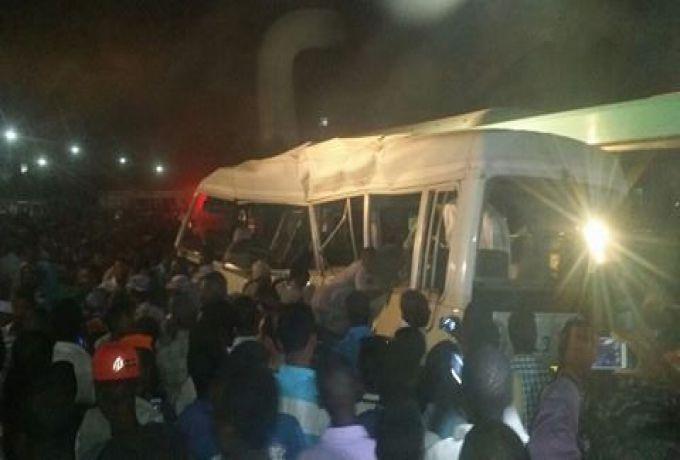 مصرع واصابة 29 شخصاً بحادث مروع بالشمالية