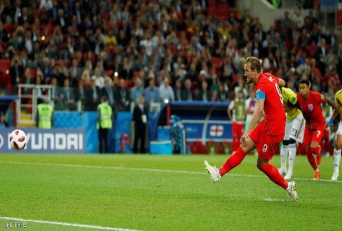 انجلترا تلحق بالثمانية الكبار بعد تجاوز كولومبيا