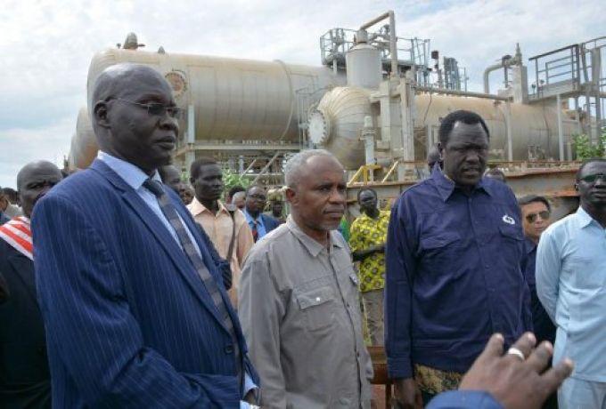 وزيرا نفط السودان وجنوب السودان يقفا علي تأهيل حقول البترول بالجنوب