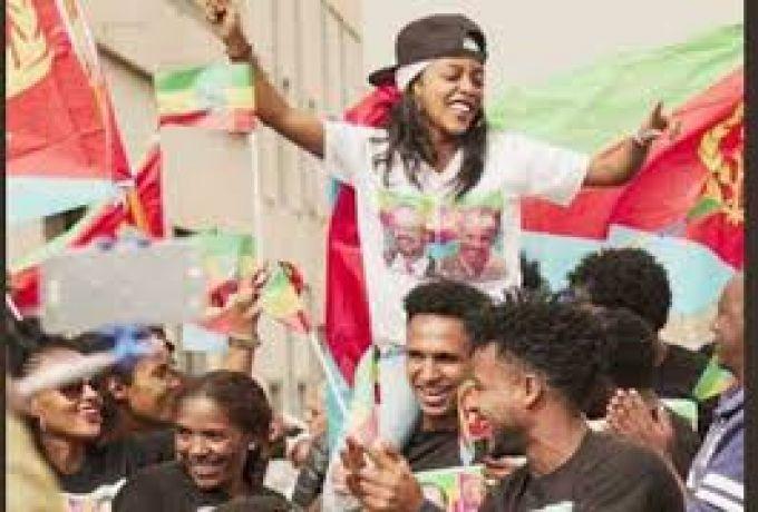 الشعب الاثيوبي يحتفي بزيارة الرئيس الاريتري