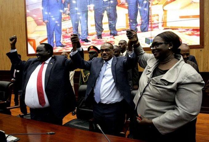 اتفاق جزئي لتقاسم السلطة بين فرقاء جنوب السودان