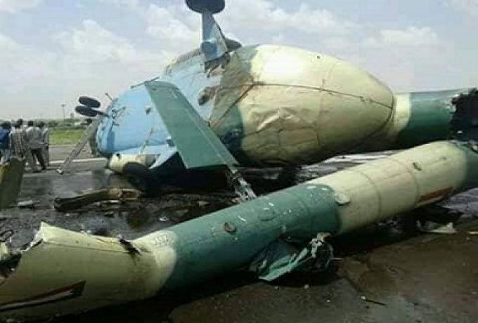 تحطم طائرة عسكرية بمطار نيالا يسفر عن اصابات