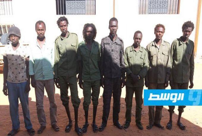"""صورة ..ليبيا تُعلن القبض علي """"عصابة سودانية تُهرب السلاح والوقود"""""""
