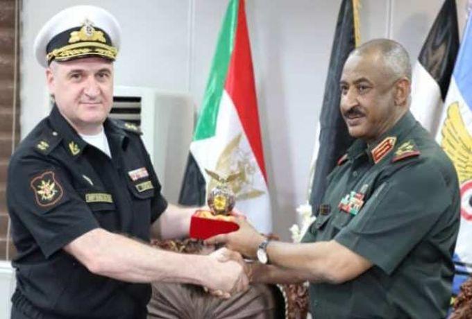مسؤول عسكري رفيع يجري مباحثات بالخرطوم