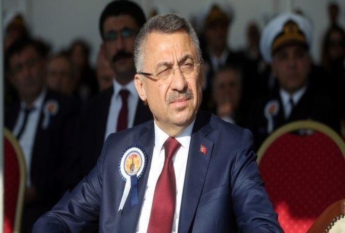 نائب الرئيس التركي يصل الخرطوم برفقة وزراء