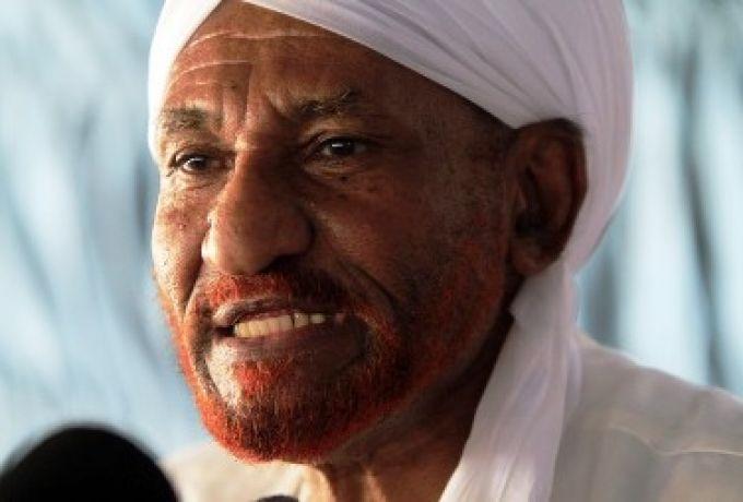 الشرق الأوسط :المهدي يؤكد استعدادهم للحوار مع الحكومة