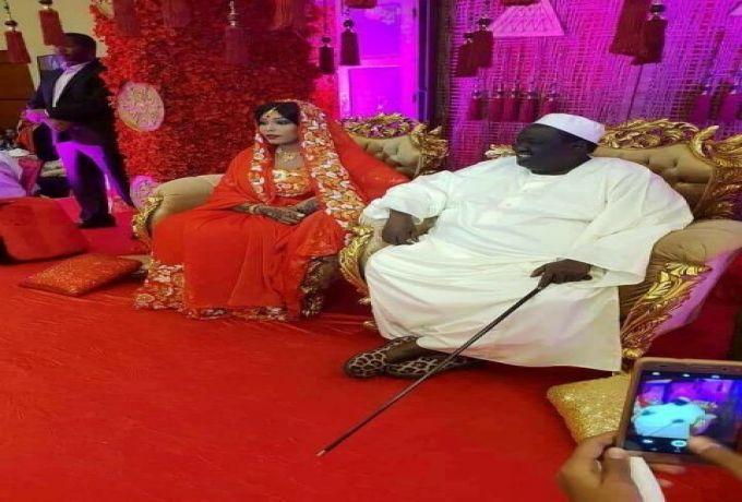 صورة ..مستشار سلفا كير يكمل مراسم استلام عروسه بالخرطوم