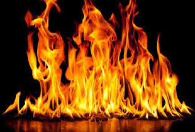 حريق محدود بعمارة الذهب بالخرطوم