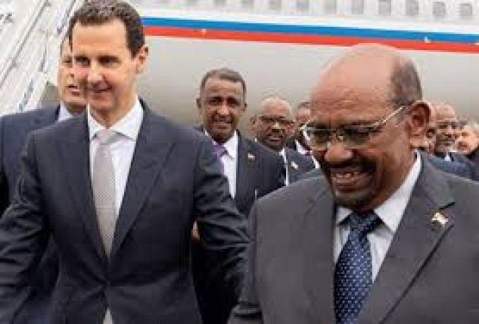 دبلوماسي سوري :بعد زيارة البشير الي دمشق نتوقع زيارات رؤساء عرب