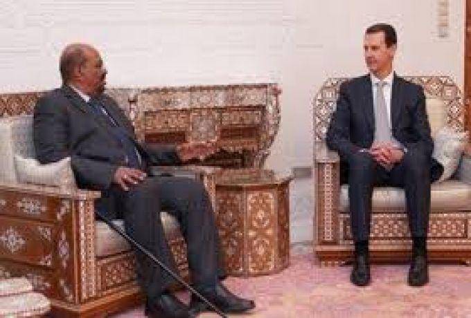 السودان يكشف هدف زيارة البشير لسوريا وسر استخدام الطائرة الروسية
