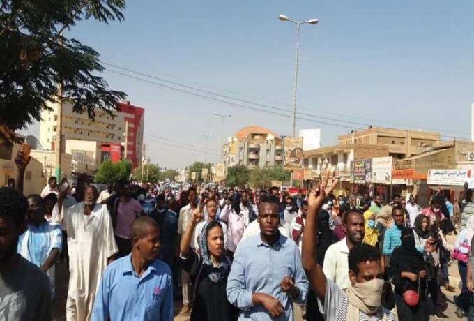 الخرطوم تشهد موكب احتجاجي جديد يطالب بإسقاط النظام