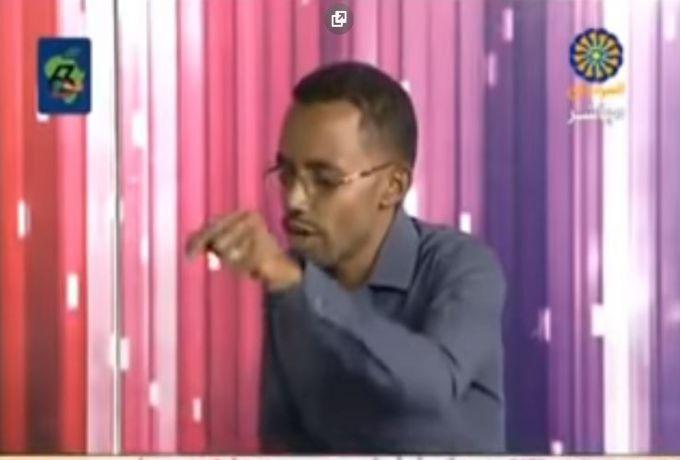 مفاجأة لم يتوقعها تلفزيون السودان من شابين هاجما النظام