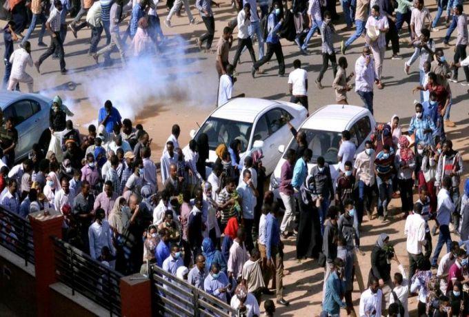 """الشرطة : لا خسائر في الممتلكات او الارواح في تظاهرات """"مدني"""""""