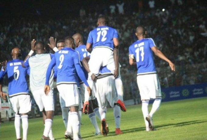 الهلال يقتنص نقطة غالية امام زيسكو الزامبي بعشرة لاعبين