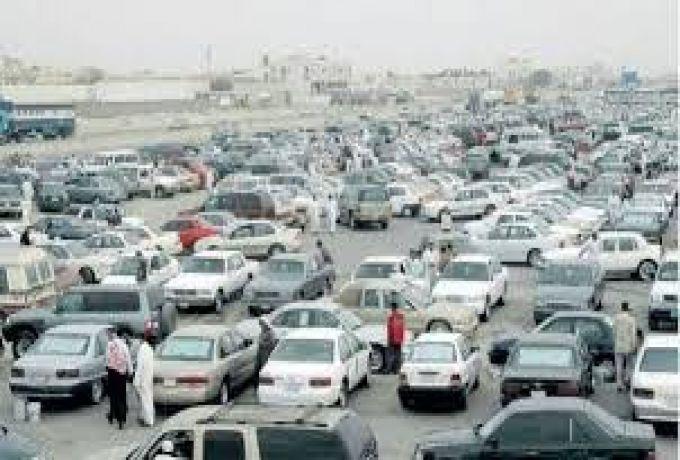 إنخفاض كبير في اسواق السيارات بالسودان